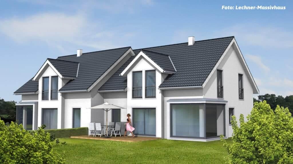 klimaPOR Doppelhaus