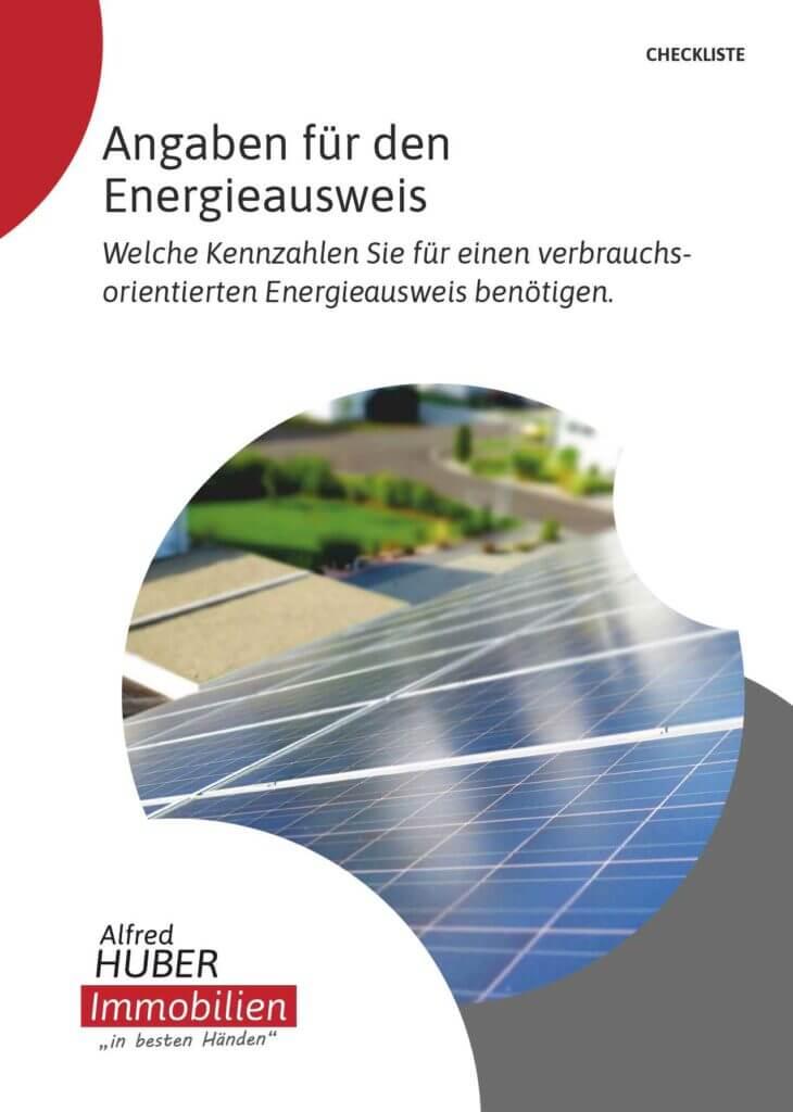 Angaben für den Energieausweis
