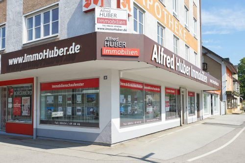 Alfred Huber Immobilien Büro in Freilassing